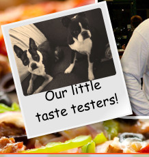Our little taste testers!